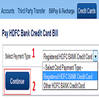 how to make icici credit card payment through neft