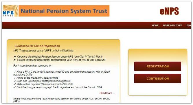 eNPS-portal-registration