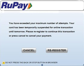 register sbi rupay debit card for online transaction
