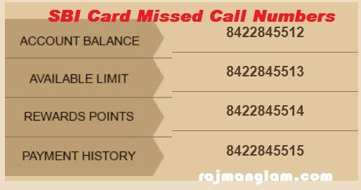 SBI-Credit-Card-missed-call-numbers