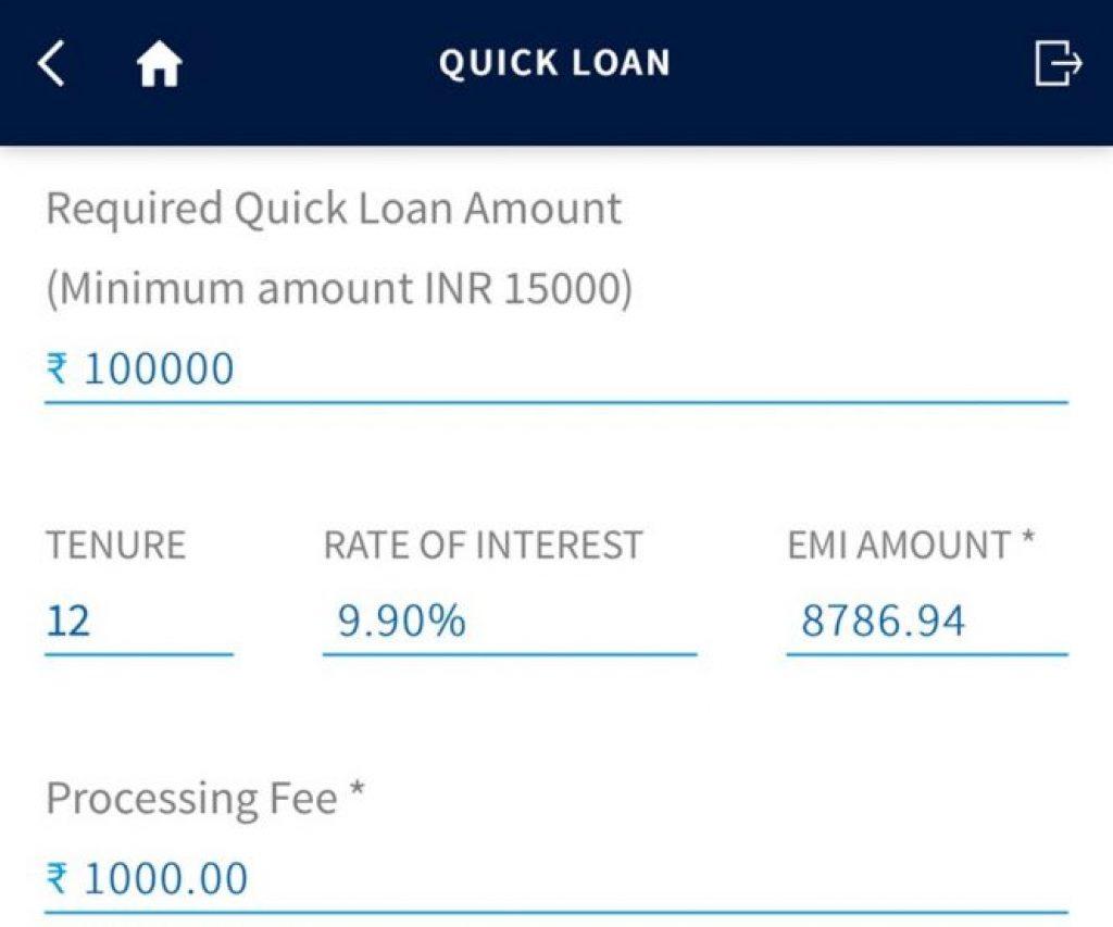 Yes Bank Credit Card Loan