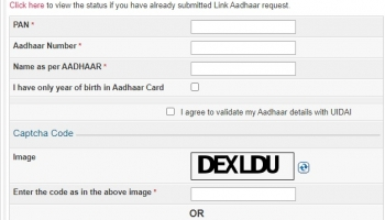 How to Link PAN-Aadhaar For Income Tax Return ?