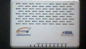 BSNL ADSL Broadband Modem Price and Tariff Plan