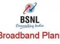 BSNL Broadband Limited Tariff Plan Chart