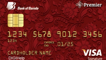 Bank of Baroda Premier Credit Card Reviews