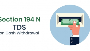 How to Calculate TDS on Cash Withdrawal From Bank Account ?