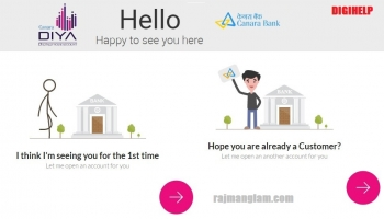Canara DiYA – Canara Bank Digital Account Online