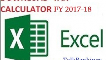 Download Income Tax Calculator AY 2018-19 Free in Excel Format