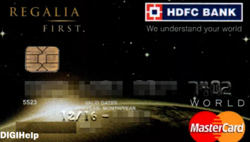 HDFC Bank Regalia First Credit Card Review (2020)