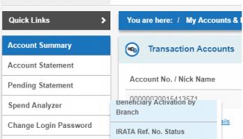 How To Link Aadhaar With SBI Account Online ?