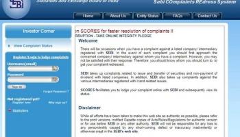 How Can Investors Register Complaint using SEBI Scores ?