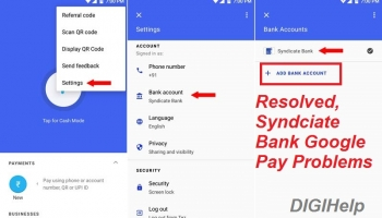 [RESOLVED]- Syndicate Bank Google Pay Problem