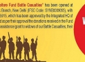 Syndicate Bank Staffs 'thrilled' to operate 'Army Welfare Fund Battle Casualties' Account