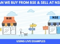 Can I sell shares bought on BSE in NSE ?
