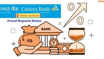 Check Latest Canara Bank Fixed Deposit Rates