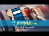 How To Pay Utility Bills Using Citibank Mobile Banking ?
