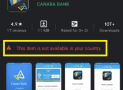 Fix – This Item isn't Available in Your Country, Playstore Error
