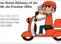 How To Get Reliance Jio 4G SIM through Home Delivery ?