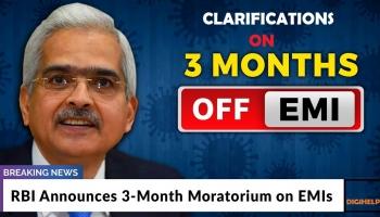 Clarification on RBI's 3 Months Loan Moratorium, Should borrowers accept it ?