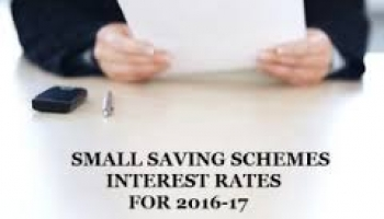 Small Savings Schemes Interest Rate Cut on PPF,Post Office, KVP etc.