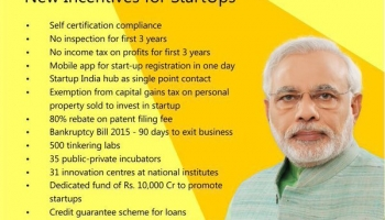 What are the Benefit of Start-up India ?
