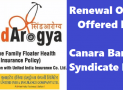 Synd Arogya Benefits – How to continue the existing Healthcare Policy ?