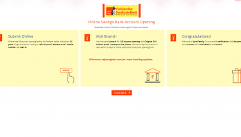 How To Open Syndicate Bank Saving Account (Synd Swayam) Online ?