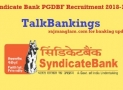 How To Get Finance For PGDBF Courses of Syndicate Bank ?